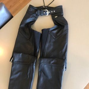 Harley Davidson Woman's Leather Riding Chaps